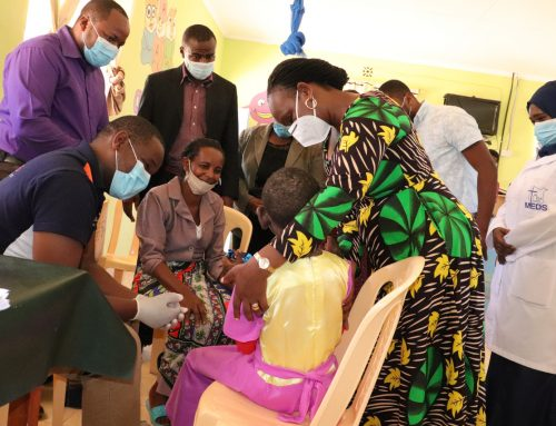 First Lady oversees children treatment at Mwatate orthopaedic medical camp