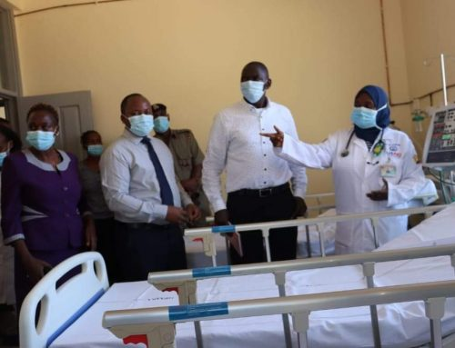 The Government Spokesperson Col. (Rtd) Cyrus Oguna today toured  Moi County Referral Hospital (MCRH) and Mwatate Sub-County Hospital as part of the efforts of taking stock of the huge investments made by the 2-levels of government in the health sector.
